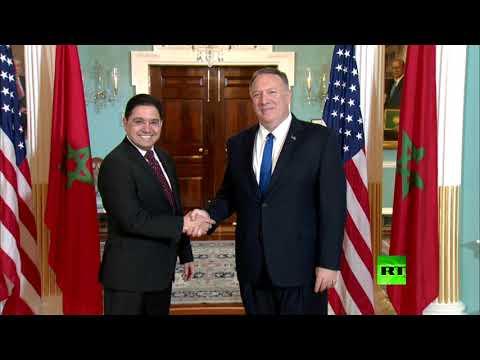 شاهد مباحثات أميركية مغربية في واشنطن حول القضايا الإقليمية