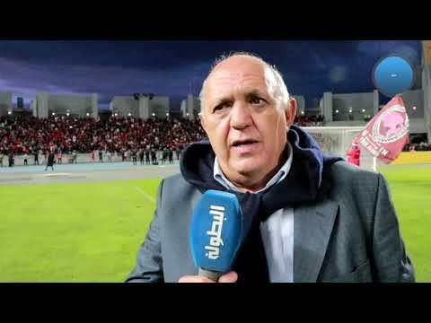 شاهد رئيس الحسنية يؤكد أن اللاعبين قدَّموا مباراة كبيرة في طنجة