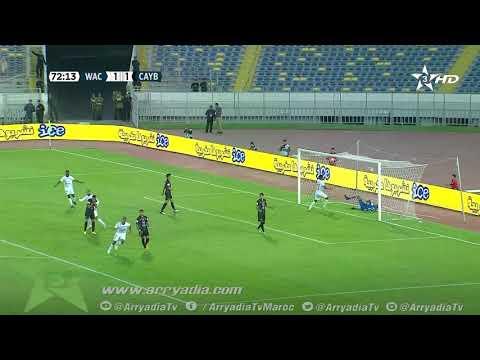 شاهد هدف أيوب الكعبي لاعب الوداد ضد يوسفية برشيد