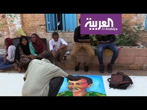 شاهد فنون الثورة السودانية تصل إلى العالم في معارض فنية مهمة