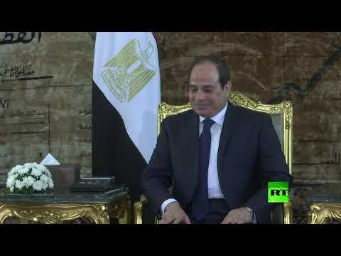 شاهد السيسي يلتقي وزير الدفاع الروسي في القاهرة