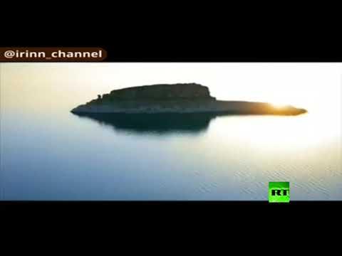 شاهد صحراء لوط الإيرانية تتحول إلى بحيرة كبيرة