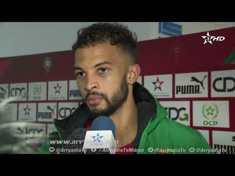 شاهد الحسين عبد الرحمن يعتبر تعادل موريتانيا أمام المغرب إيجابيًا