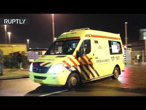 شاهد العثور على 26 مهاجرًا في حاوية تبريد في هولندا