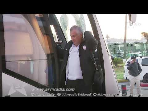 شاهد بعثة الوداد تشدّ الرحال إلى الجزائر لمواجهة اتحاد العاصمة