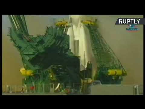 شاهد  إطلاق شاحنة فضائية روسية من قاعدة بايكونور