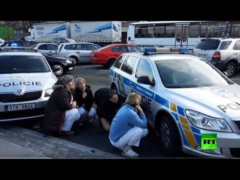 شاهد اللقطات الأولى من موقع إطلاق النار في أحد مستشفيات التشيك