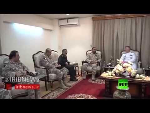 شاهد قائد البحرية الإيرانية يلتقي نظيره القطري في الدوحة