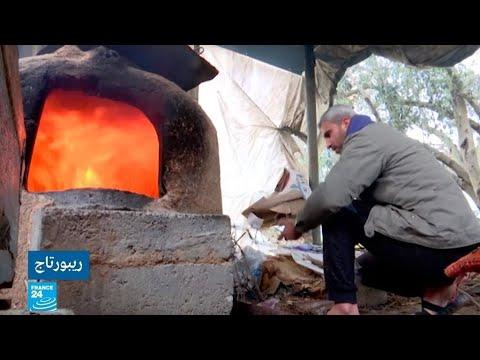 شاهد إقبال متزايد على فرن الطينة في قطاع غزّة