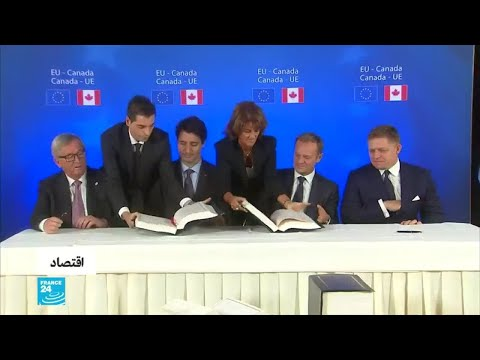 شاهد لندن تريد اتفاقًا تجاريًا على غرار الاتفاق الذي عقدته بروكسل مع كندا