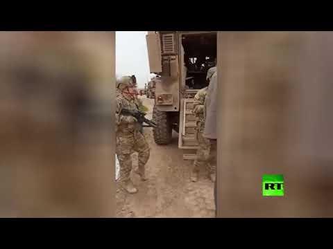 شاهد مواطن سوري يواجه عسكريين أمريكيين ويطالبهم بمغادرة بلاده