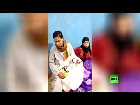 شاهد ياسمين رمضان ربيع المولود رقم 100 مليون في مصر