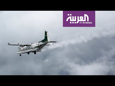 شاهد السعودية تبدأ تجارب الاستمطار الصناعي في المنطقة الجنوبية الغربية