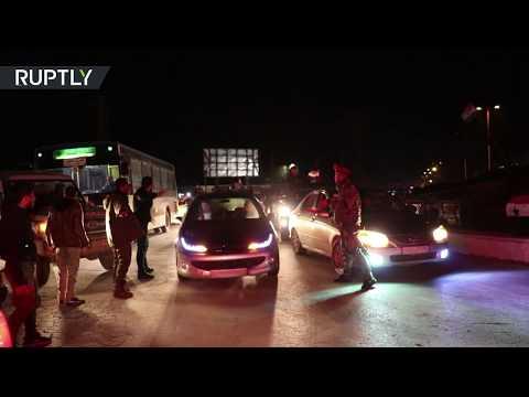 شاهد احتفالية المواطنين بتأمين الجيش السوري محيط مدينة حلب بالكامل