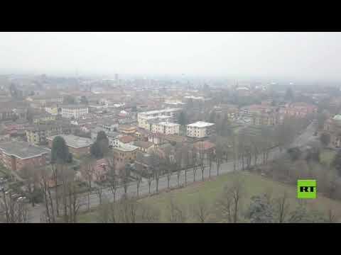 شاهد لقطات من الجو لمدن إيطالية بعد انتشار كورونا