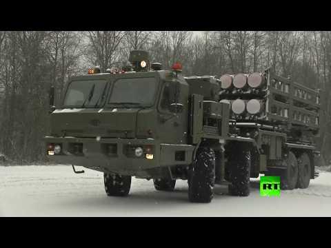 شاهد روسيا تختبر منظومات اس350 الصاروخية الحديثة