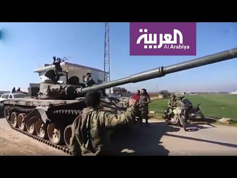 شاهد معارك كر وفر تشهدها بعض المناطق في ريف إدلب