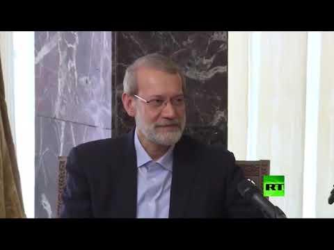 شاهد إصابة رئيس البرلمان الإيراني علي لاريجاني بفيروس كورونا