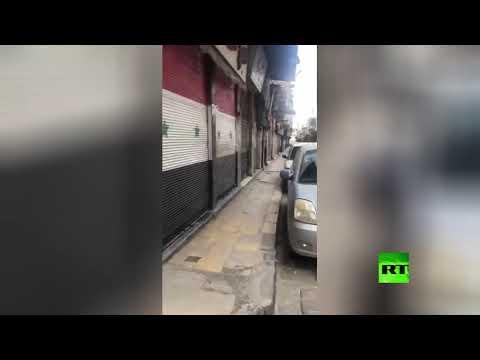 شاهد بدء تطبيق حظر التجول المدد الجمعة والسبت في سورية