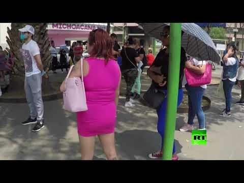 شاهد المكسيك تقدم مساعدات لبائعات الهوى