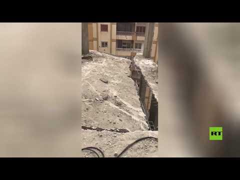 شاهد حملة واسعة لإزالة الأببنية المخالفة في مصر تزيد الترقّب