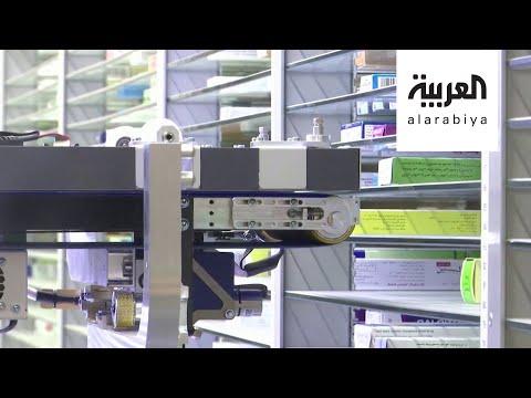 شاهد ابتكار صيدلاني آلي في القاهرة للحد من انتشار فيروس كورونا