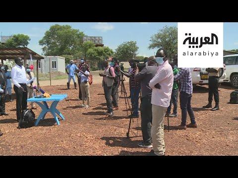 شاهد مبادرة إعلامية في جنوب السودان لمكافحة وباء كورونا