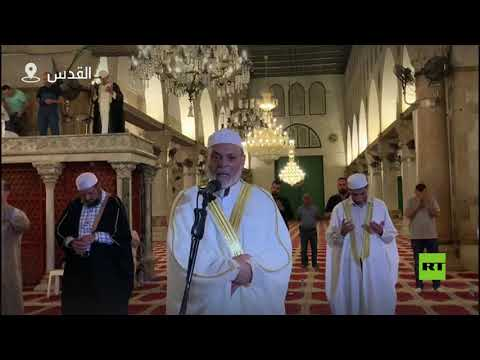 شاهد إحياء ليلة القدر في المسجد الأقصى دون مصلين