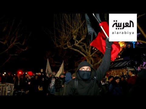 شاهد تعرَّف على حركة أنتيفا التي اتهمها ترمب بالوقوف وراء أعمال العنف