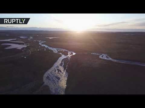 شاهد روسيا تُعلن حالة الطوارئ في إقليم كراسنويارسك بعد تسرب وقود