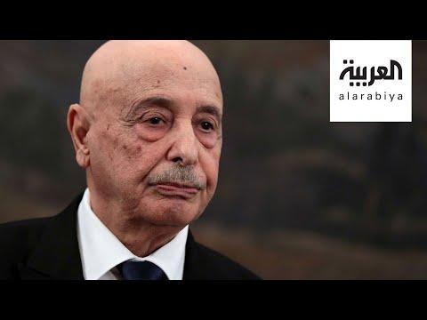 شاهد رئيس البرلمان الليبي يؤكد أن إعلان القاهرة الحل للأزمة الليبية