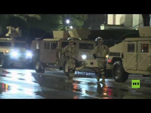 شاهد جورجيا الأميركية تعلن الطوارئ وتنشر الحرس الوطني في أتلانتا