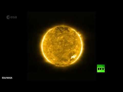شاهد مسبار فضائي يلتقط أقرب صور على الإطلاق للشمس