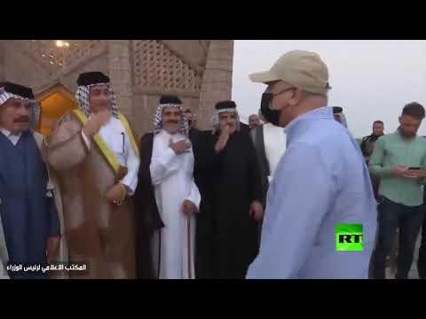 شاهد رئيس الحكومة العراقي يصل ميسان تزامنًا مع عمليات حصر السلاح فيها
