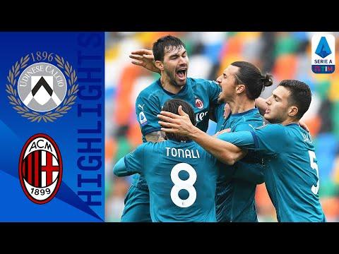 شاهد إبراهيموفيتش يقود ميلان للفوز على أودينيزي في الدوري الإيطالي