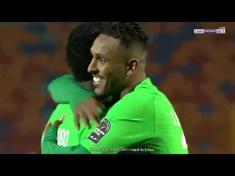 شاهد هدف الرجاء المغربي الأوّل في مرمى الزمالك