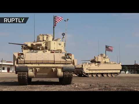 القوات الأميركية تُسير دوريات قرب حقول نفط الرميلان في الحسكة السورية