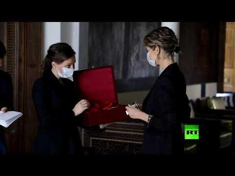 مفوضة حقوق الطفل في روسيا تلتقي عقيلة الرئيس السوري أسماء الأسد