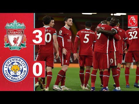 شاهد ليفربول يفوز على ليستر سيتي ويزاحم توتنهام على الصدارة