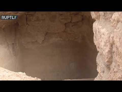 شاهد العثور على غرفة عرش الملك هيرودس