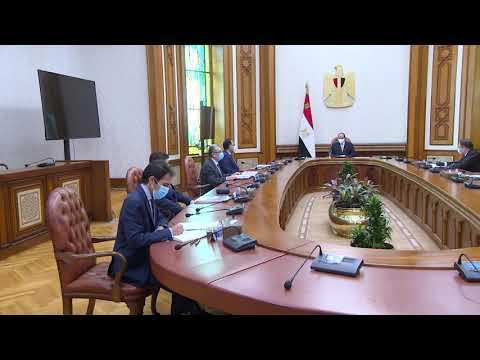 شاهدالرئيس المصري السيسي يستقبل مدير روس أتوم الروسية