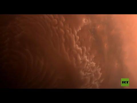 شاهد الصين تنشر صورًا جديدة عالية الدقة لكوكب المريخ
