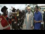 المغرب اليوم  - شاهد العاهل المغربي محمد السادس يغادر لوساكا