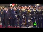 المغرب اليوم  - بالفيديو لحظة لقاء الرئيس الفلسطيني مع نظيره اللبناني