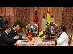 المغرب اليوم  - شاهد الملك محمد السادس ورئيس غينيا يترأسان التوقيع على اتفاقيات للتعاون الثنائي