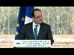 المغرب اليوم  - شاهد إطلاق نار بالخطأ خلال كلمة الرئيس الفرنسي فرانسوا هولاند