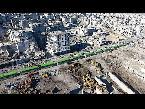 المغرب اليوم  - شاهد الحافلات الخضراء رمزًا للتغيير الديموغرافي في سورية