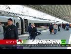 المغرب اليوم  - شاهد سبسان أسرع القطارات في روسيا