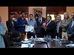 شاهد تكريم طاقم وكالة المغرب العربي للأنباء